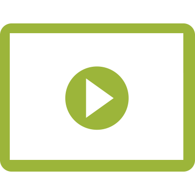 Icon of a video player